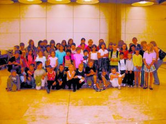 55 niños ucranianos pasan el verano en Navarra