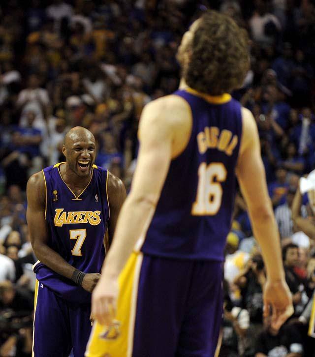 Los Lakers logran el anillo y Pau Gasol hace historia