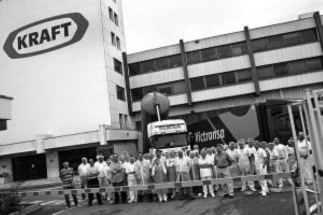 """La plantilla de Kraft en Viana se concentra contra la """"sobrecarga"""" de trabajo"""