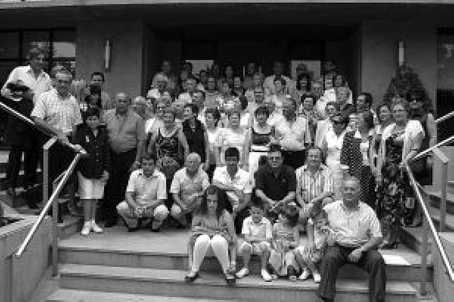 Fiesta de los riojanos residentes en la villa
