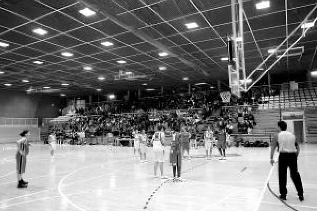 La reforma de los polideportivos de Azpilagaña y Arrosadía estará lista para agosto