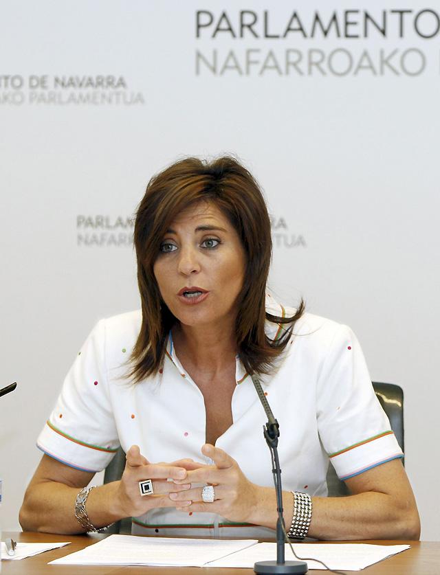 """Elena Torres dice que Barcina """"ha puesto sobre la mesa el riesgo de romper los consensos"""" en Navarra"""