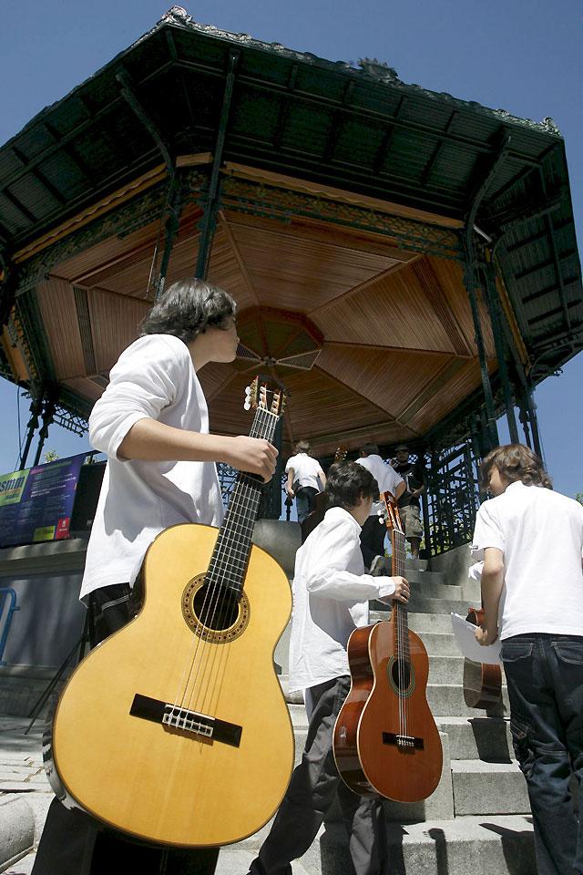 El ritmo bulle en España en el Día de la Música