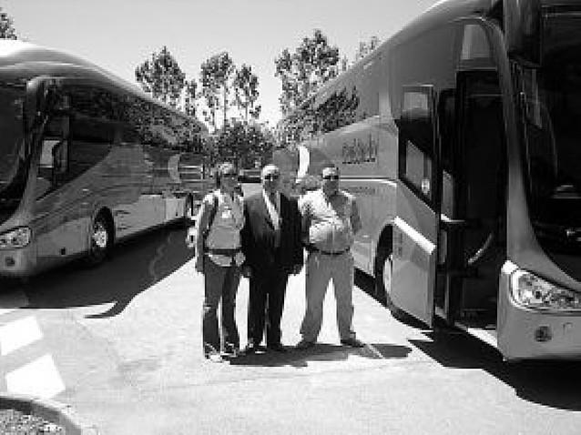 La empresa Gurbindo estrena autobuses