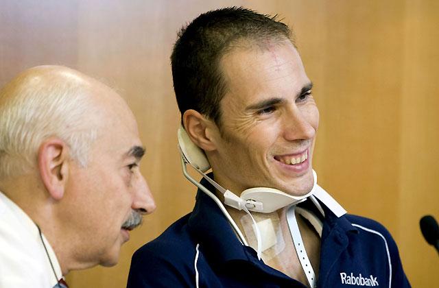 Horrillo, accidentado en el Giro, afirma su deseo de sacarle más jugo a la vida