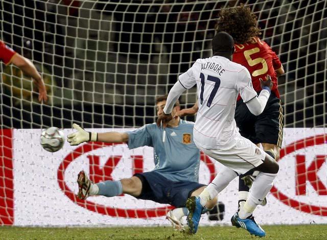 """Del Bosque: """"Esto es un pequeño paso atrás"""""""