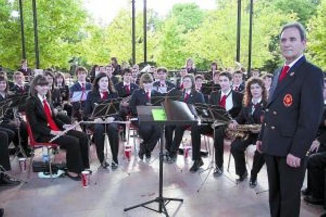 La banda de Aoiz actuó en Madrid dentro del Día europeo de la música