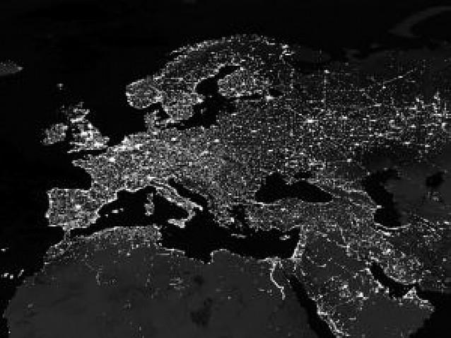 La Vía Láctea, oculta para los europeos por la contaminación lumínica