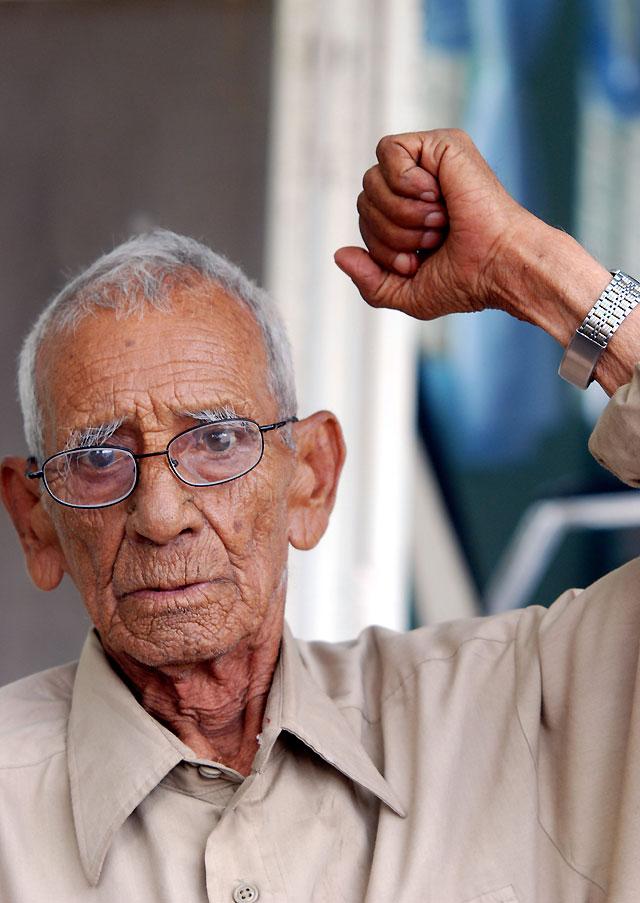 El único sobreviviente de las fuerzas de Pancho Villa dice que volvería a las armas
