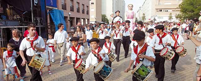 Barañáin recupera su ambiente festivo