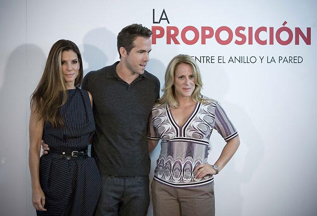 "Sandra Bullock regresa a la comedia romántica con ""The Proposal"""