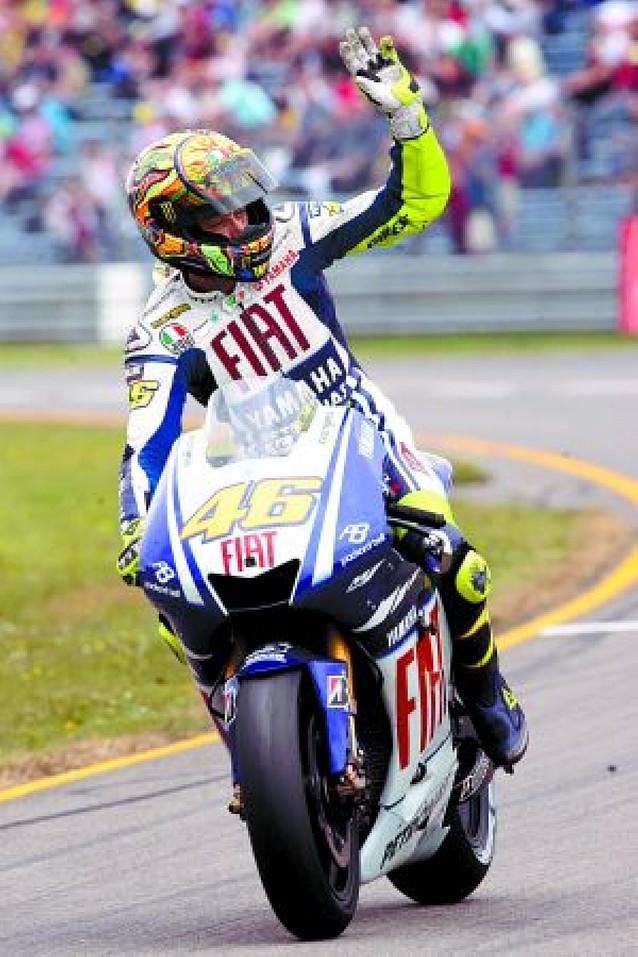 """Rossi toma ventaja al lograr la """"pole"""""""