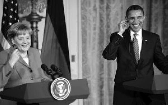 Obama y Merkel piden que se oiga a los grupos de la oposición en Irán
