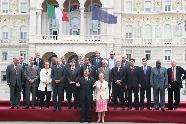 Concluye en Trieste la cumbre del G8 marcada por la situación en Irán