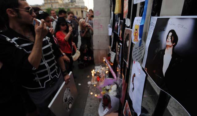 Concentración en Madrid para recordar la figura de Michael Jackson