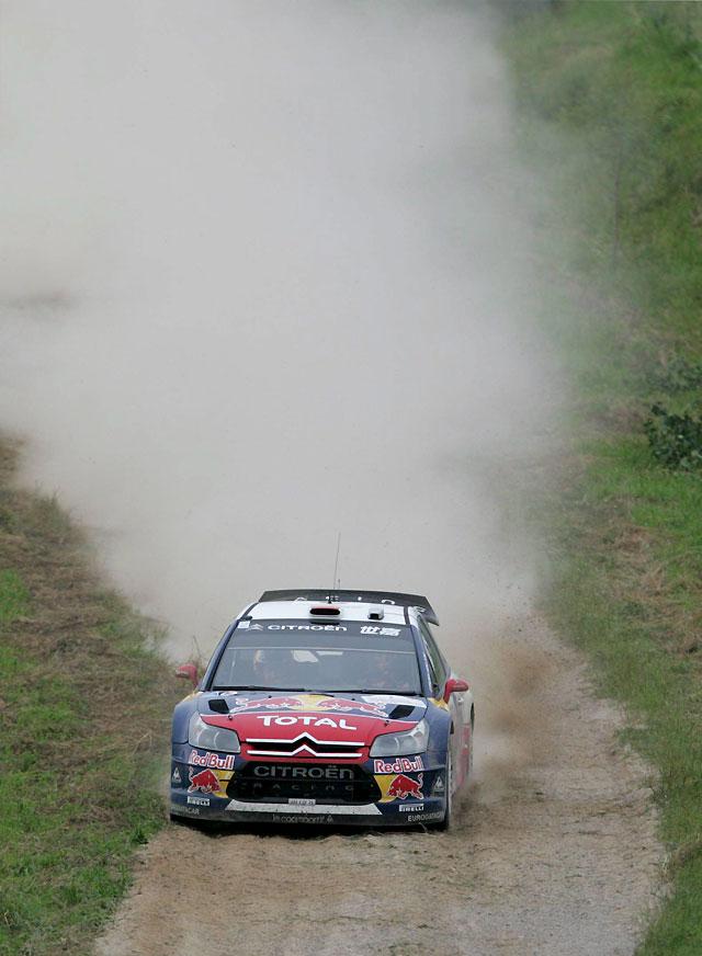 Dani Sordo continúa tercero en el Rally de Polonia