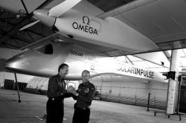 El primer avión solar