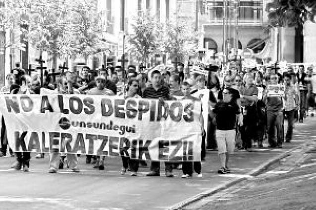 La dirección de Sunsundegui retira el ERE de 77 despidos en Alsasua