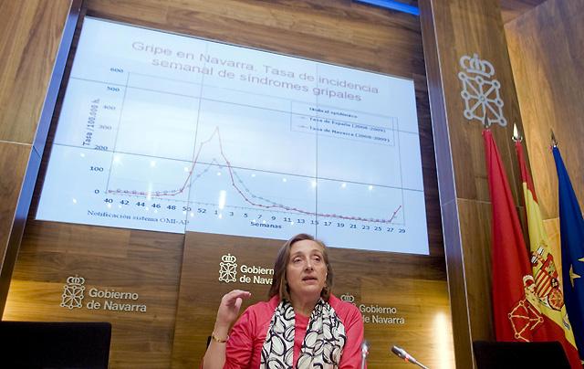 Salud plantea retrasar el inicio del curso en algunos colegios navarros por la gripe A