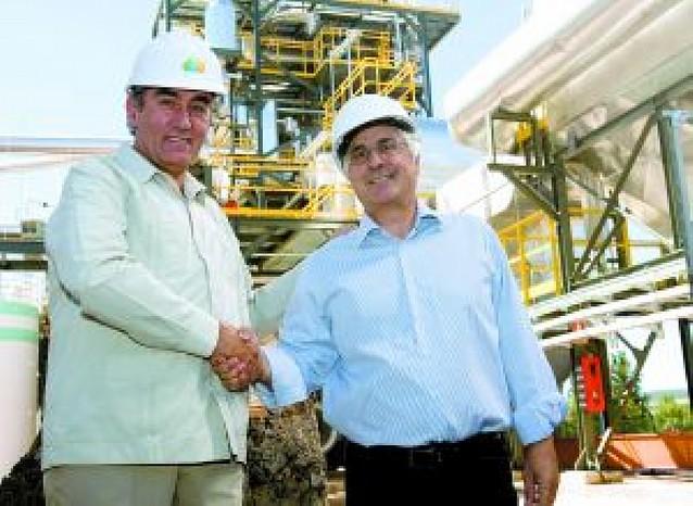 Inauguran la primera planta de biomasa forestal de España