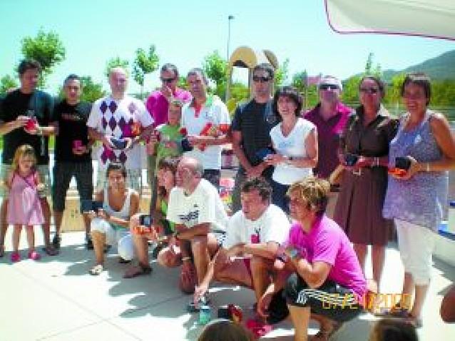 El complejo de Ardantze acoge en sus instalaciones el I Open de Pádel Raqueta Montejurra