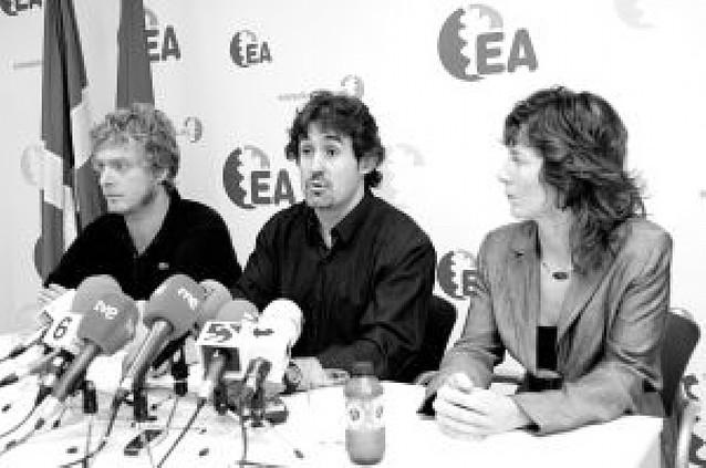 El nuevo secretario general de EA defiende para la CAV el modelo de Nafarroa Bai