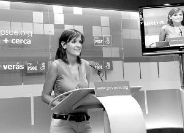 El PSN advierte a Barcina que no tendrá su apoyo si mantiene a Cristina Sanz (PP) en su cargo