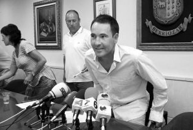 NaBai decide que la ilegalizada ANV lance el cohete festivo de Berriozar