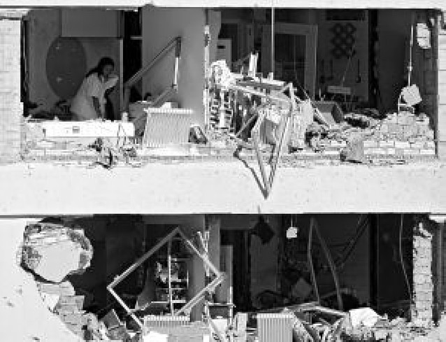 La bomba que ETA colocó en la casa cuartel de Burgos tenía cerca de 300 kilos de carga
