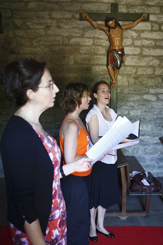 Canto gregoriano en femenino