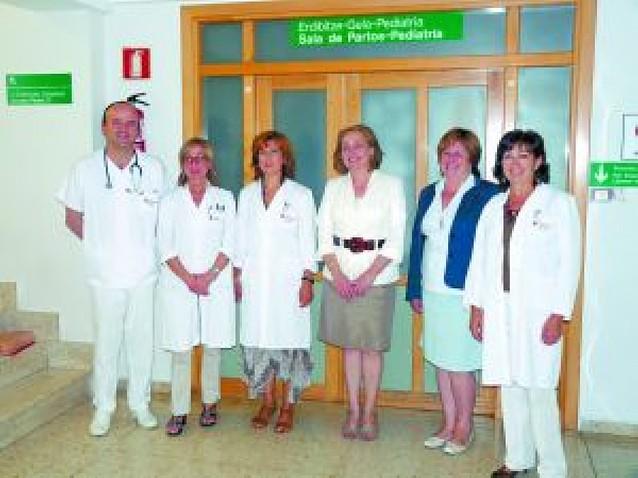El hospital de Estella remodela la zona de partos para dotarla de quirófano