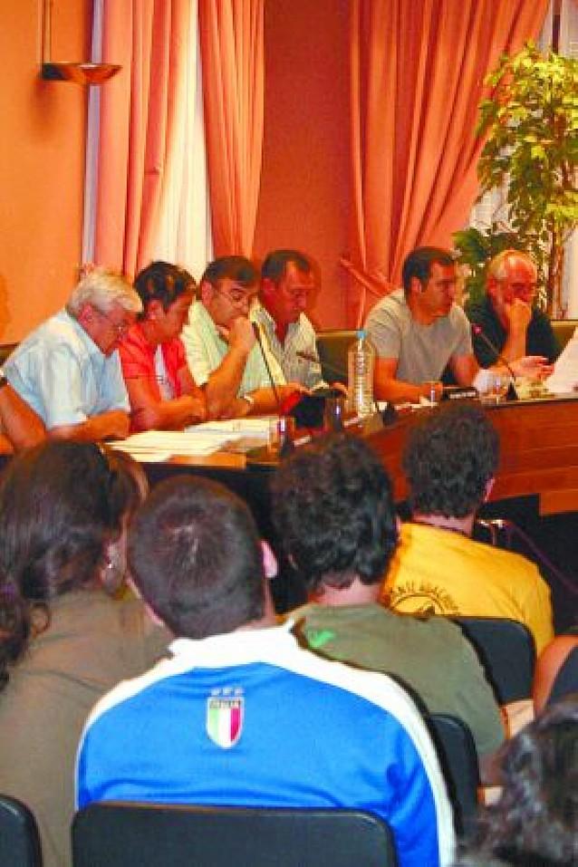 Barañáin rechaza un texto de NaBai para renovar la cesión del Gaztetxe