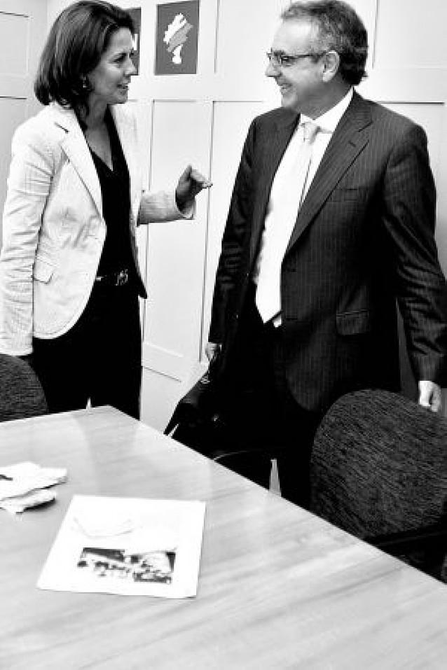 El presidente niega discrepancias con Barcina sobre Cristina Sanz