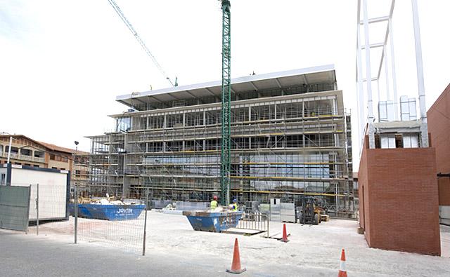 El edificio de Desarrollo Rural tendrá 240 plazas vecinales de aparcamiento