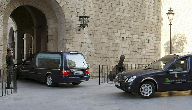 Los agentes asesinados en Mallorca reciben la Cruz de Oro de la Guardia Civil