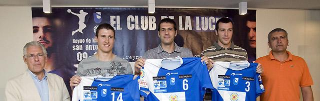 Vargas, Guardiola y González aportan veteranía y juventud al San Antonio