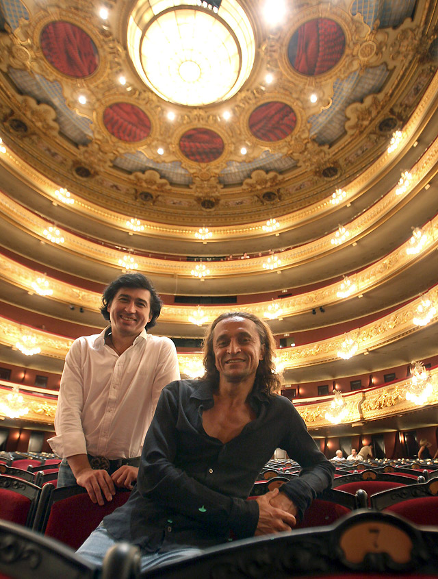 Los primeros bailarines de los ballets rusos más prestigiosos, en el Liceo