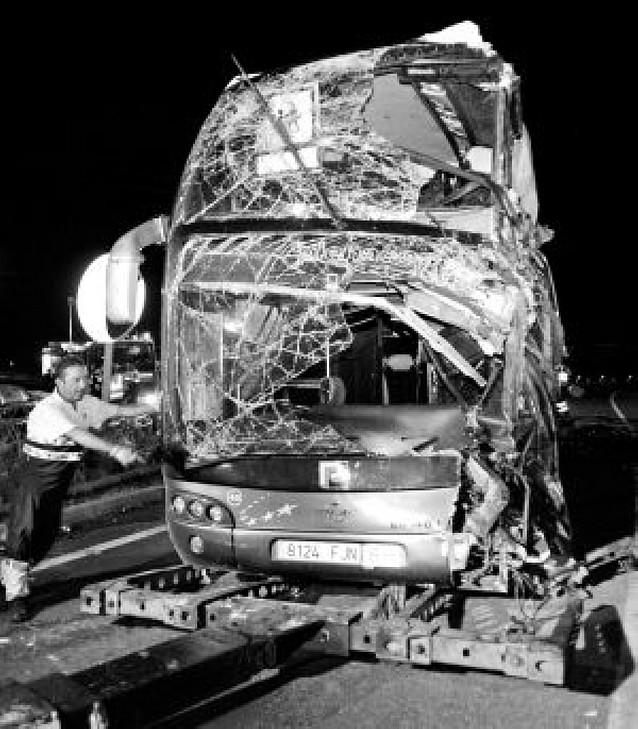 Mueren seis turistas holandeses en un accidente de autobús en Barcelona