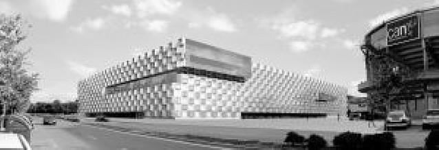 Obenasa-FCC levantará la estructura del pabellón Arena de Pamplona