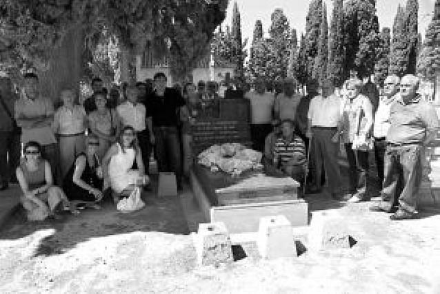 Homenaje a los fusilados en 1936