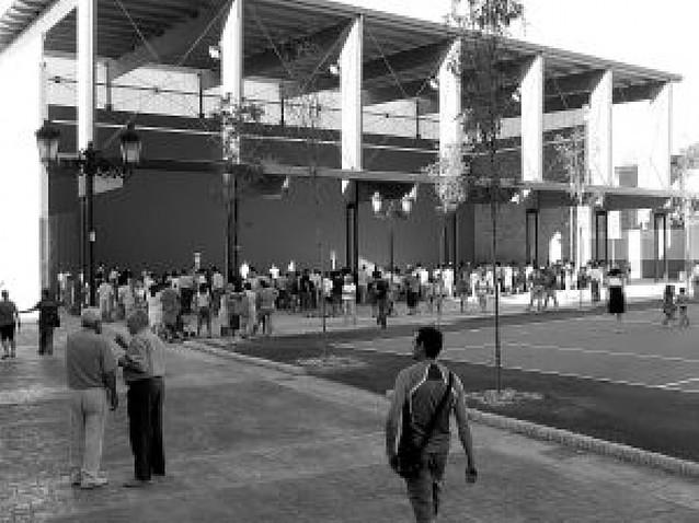 Villafranca estrena una plaza, una pista de tenis y un frontón
