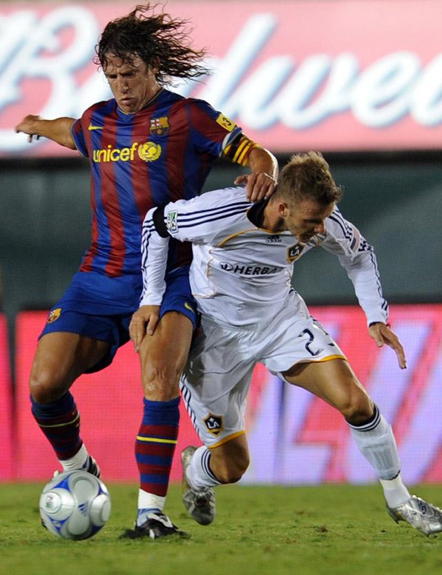 El Barça supera al Galaxy de Beckham (1-2)