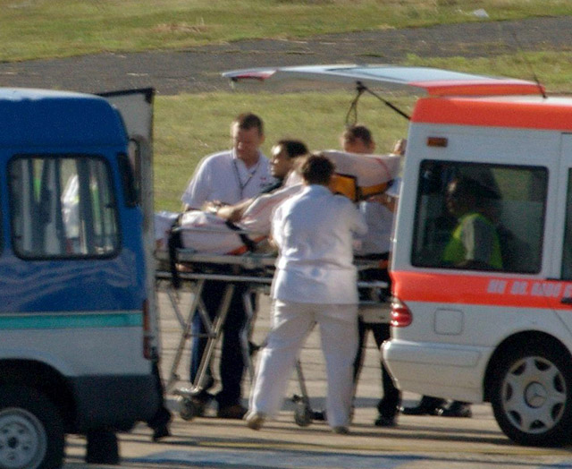Massa abandona el hospital de Budapest y emprende viaje a Brasil