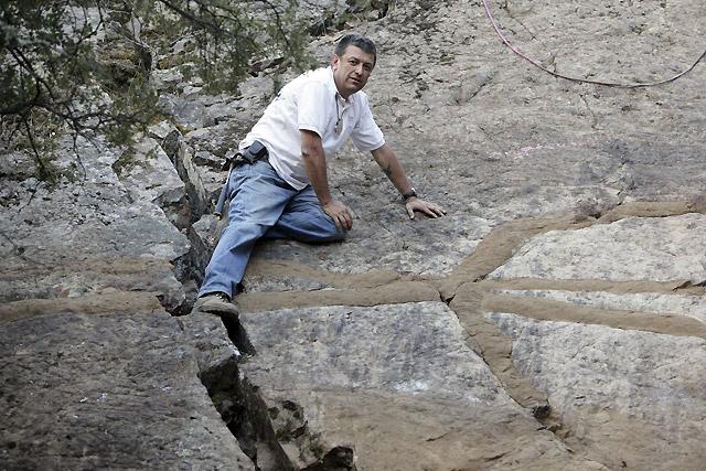 """Encuentran en Castilla La Mancha fósiles de """"gusanos gigantes"""" de casi 500 millones de años"""