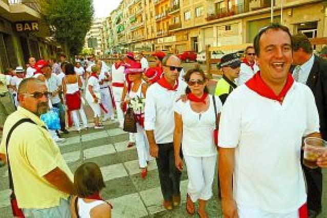 Pablo Hermoso de Mendoza consiguió el mayor peregrinar de estelleses hasta la plaza