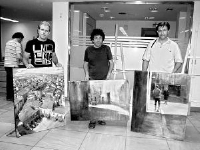 El pamplonés Xabier Celestino gana el concurso de pintura rápida de Cintruénigo