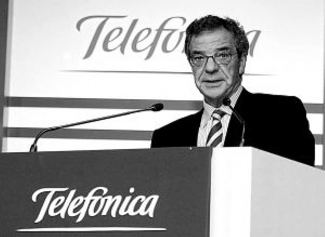 Telefónica reparte a sus directivos 6,5 millones de acciones