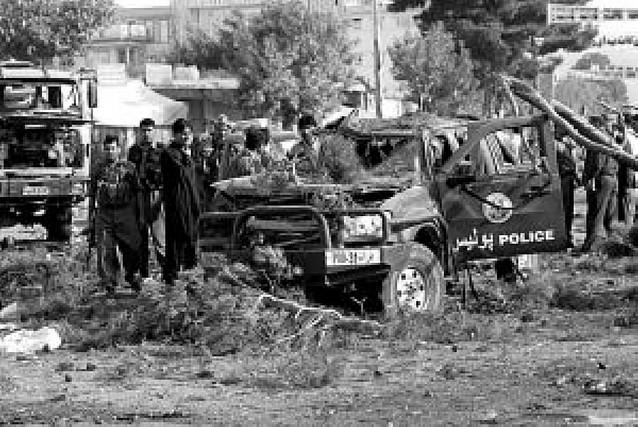 Atentado en Afganistán, en la región de las tropas españolas