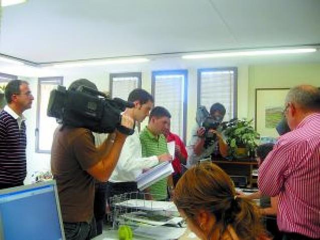 UPN, PSN y CDN de Berriozar piden un pleno para que el alcalde retire el chupinazo a ANV