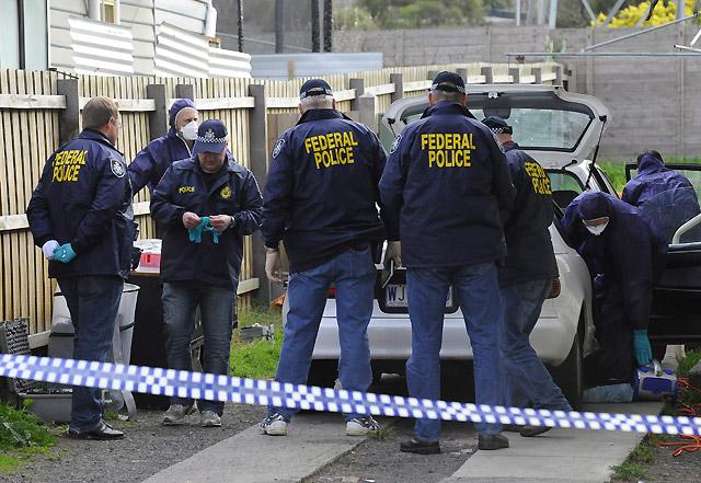 Detenidos 4 presuntos terroristas que preparaban un atentado en Australia